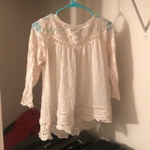 FREE WITH BUNDLE: GUC Free People Lace Cover-up